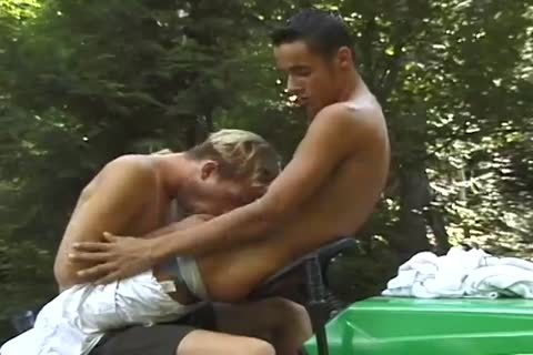 Lucas DeSolei And Nicky Wells bone In The Great outdoors