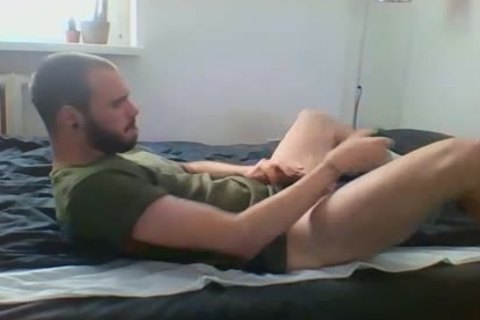 Me Getting lascivious With Military Sneakers And White Socks, Wearing My Sweaty Army T Shirt That Smells Very Manly