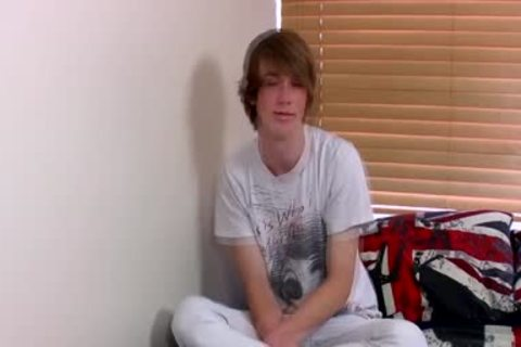 Ginger Emo teen Kai Alexander Pleasures Himself On A daybed