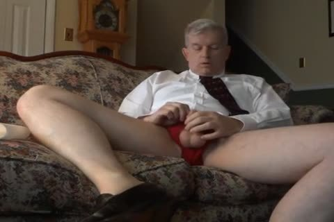 Business Daddy Works His aperture And Jerks His jock