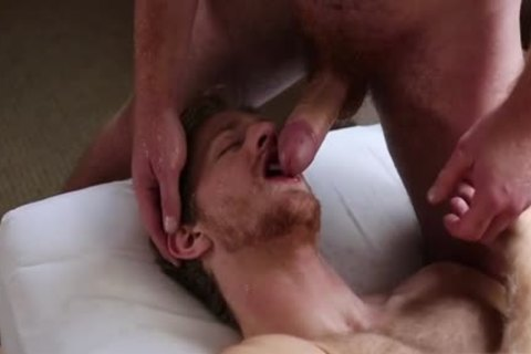 Muscle homosexual butthole job With Facial