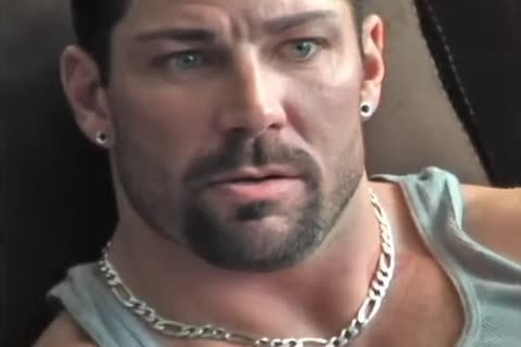 large Muscle dude Love dildos
