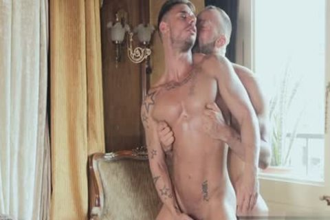 Muscle lad anal sex With penis juice flow
