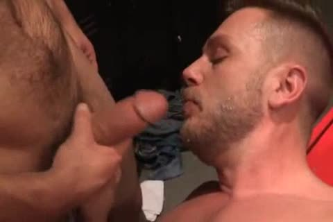 Gays blowjob and hot rimming