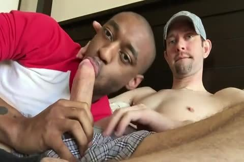 White man acquires Sucked By darksome chap