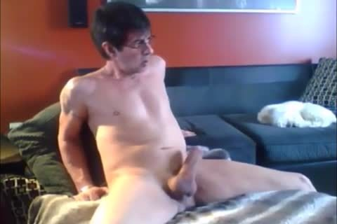 that dude Spends The Day Masturbating In His couch