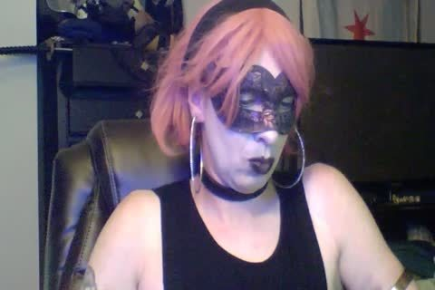 kinky Dancing Goth CD cam Show (part two Of two)