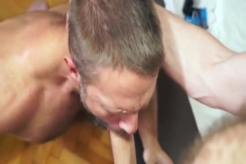 large Dicked Ginger pounds Daddy