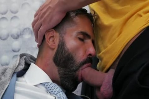 Muscle homosexual ass sex With sperm flow