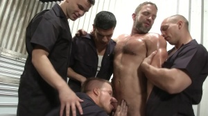 The Shop - Dirk Caber, John Magnum ass Hook up