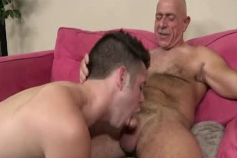 old guy engulf And take up with the tongue So good, And Then bang The best