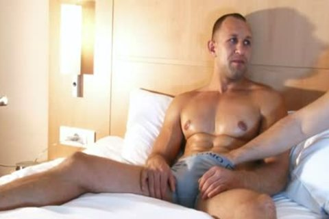 str8 man In A homosexual Porn In Spite Of Him : Igor My Gym Trainer